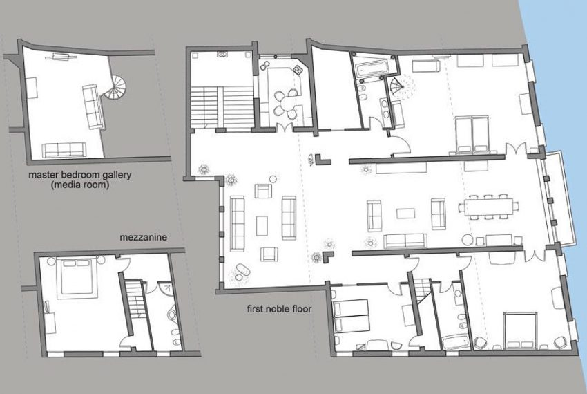 Luxury Apartment on Canal near Rialto Bridge Venice-032