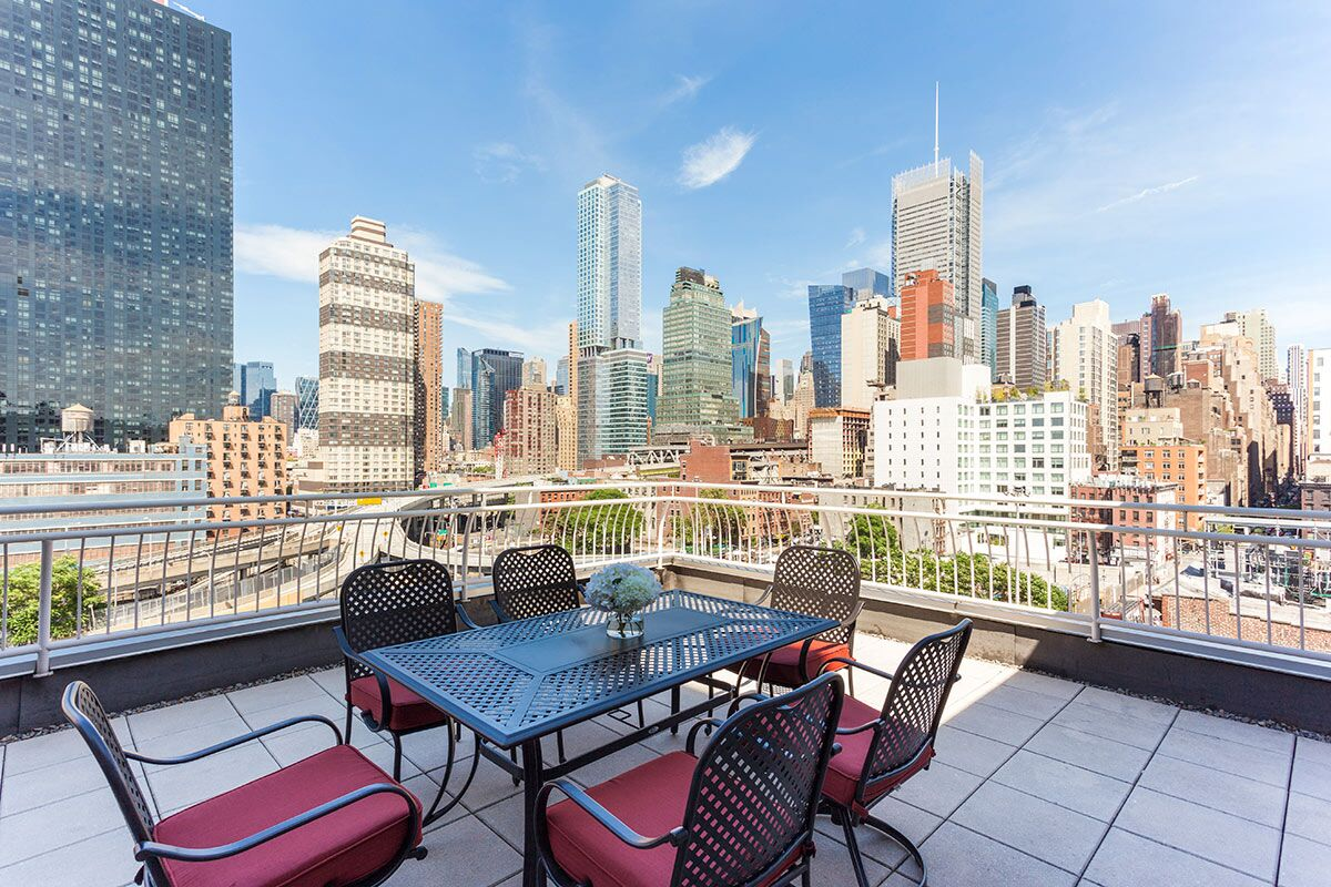 PENTHOUSE ON WEST 38th STREET