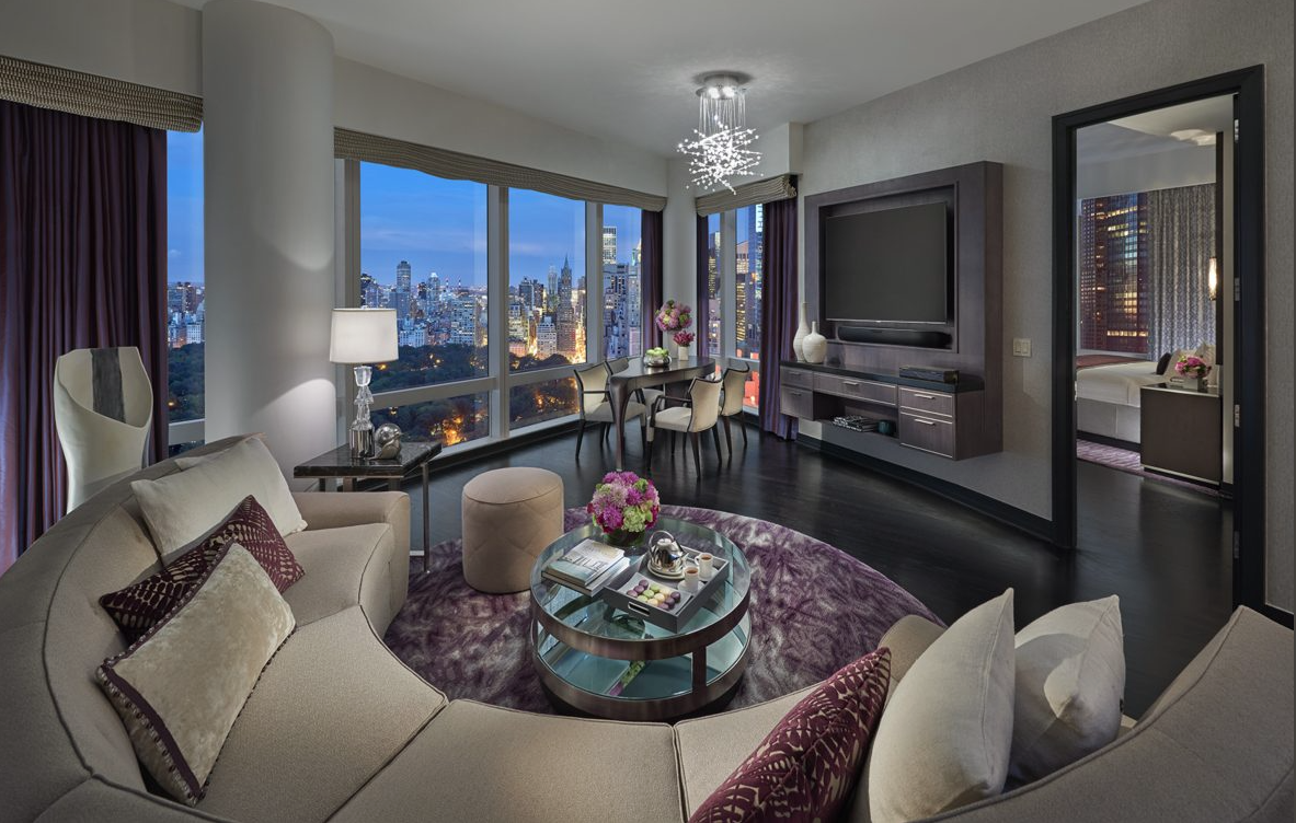 2-3 BEDROOMS CENTRAL PARK WEST ULTRA LUXURY SUITE
