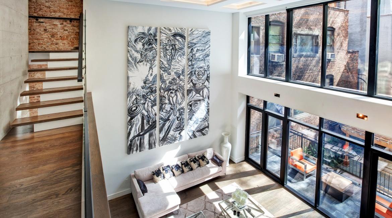 00004-luxe-apartmentsrentals-5-Bedroom-townhouse-in-Hells-Kitchen-NYC